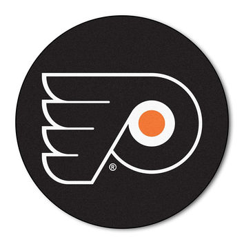 Philadelphia Flyers NHL Puck Mat (29 diameter)