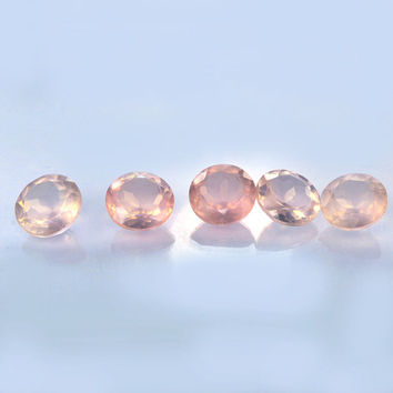 Natural Rose Quartz Gemstone - Loose Gemstone - Rose Quartz Loose Gemstone - Round Gemstone,5 piece 16*16 MM - 64.80 Ct Gemstones Lot