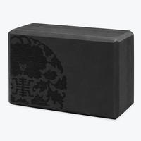 Gaiam Sol Medallion Yoga Block - Gaiam