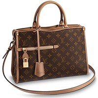 Louis Vuitton Monogram Canvas Popincourt PM Tote Handbag Sesamo Article: M43537 Made in France