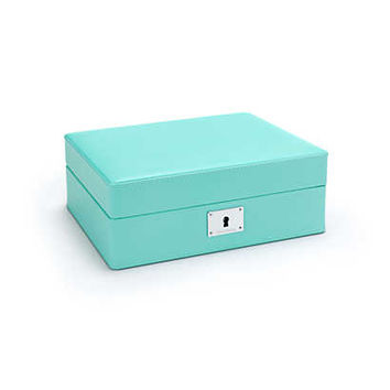 Tiffany & Co. - Charms box in Tiffany Blue® leather. More colors available.
