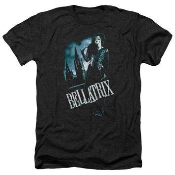 Harry Potter - Bellatrix Full Body Adult Heather Officially Licensed T-Shirt Short Sleeve Shirt