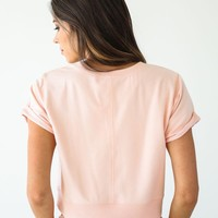 Free People Pink Power Tee - Luca + Grae