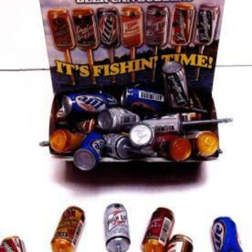 miller beer can fishing bobbers Case of 72