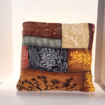 Fleece Quillow, magic pillow, lap quilt, throw blanket, fall blanket, fleece blanket