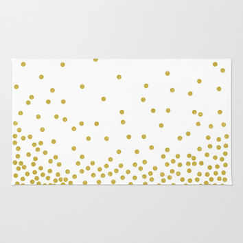 Shop Polka Dot Area Rug On Wanelo