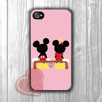 mickey and minnie couple in love cute-1nny for iPhone 4/4S/5/5S/5C/6/ 6+,samsung S3/S4/S5,samsung note 3/4