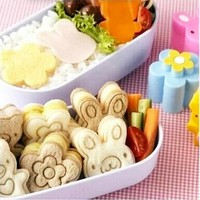 Sandwich Cutter 3PCS Japanese  KAWAII  Bread Cheese Meat Food Cutter  Form Maker  FOR Kid's  Bento Lunch Box