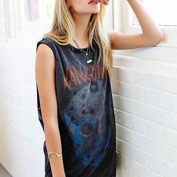Vanguard Mask Boyfriend Tee- Black