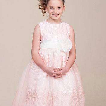 Stunning Tulle Flower Girl Dress with Sequin