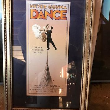 Never Gonna Dance Poster