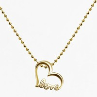 Women's Alex Woo 'Little Words' Pendant Necklace