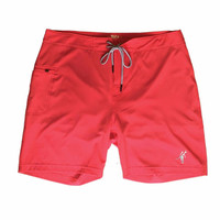 Toes on the Nose Jaws Boardshort Red