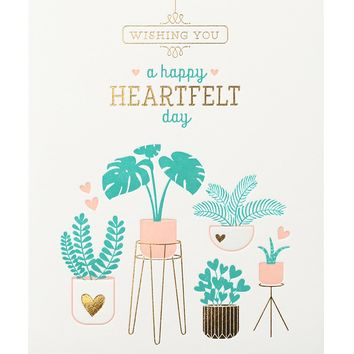 """Potted Plants"" Card"