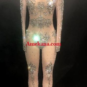 Peru Diamante Bodysuit