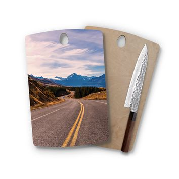 Endless Drive Rectangle Cutting Board Trendy Unique Home Decor Cheese Board