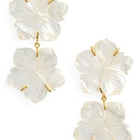 Lizzie Fortunato Paperwhite Drop Earrings | Nordstrom