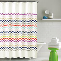 kate spade new york Brightwater Ave Fabric Shower Curtain