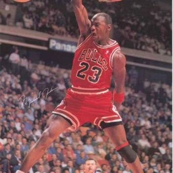 CREYUG7 Michael Jordan Sports Illustrated Poster 24x36