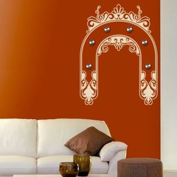 Ornament Bow Wall Decal Hanger