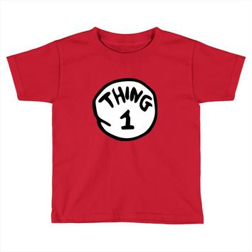 thing 1 Toddler T-shirt