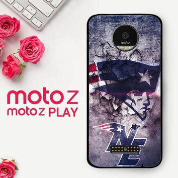 New England Patriots Nfl X4844  Motorola Moto Z Play Case