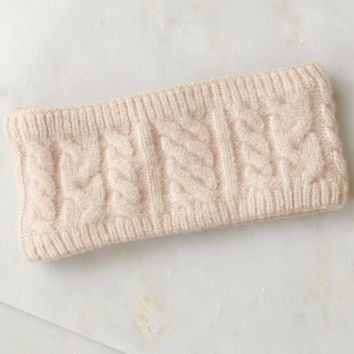 Knit Headband Taupe