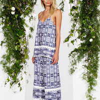 Enzo Print Gia Jumpsuit by Maurie & Eve