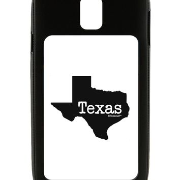 Texas - United States Shape Galaxy Note 3 Case  by TooLoud