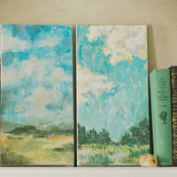 Art Painting Landscape art Set of paintings original Impressionism Art acrylic landscape paintings Original Art Landscape Acrylic on Canvas