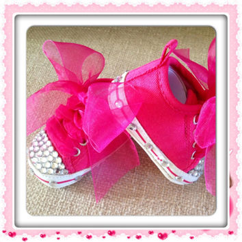 4794a3b1bf6295 BLiNG BLiNG BABY SHOES So Cute Newborn by BabyCakesByBella on Etsy