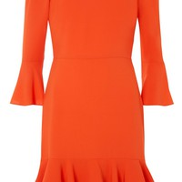 Frill Bardot Dress - Dresses - Clothing