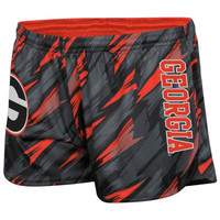 Georgia Bulldogs Ladies  Vision Shorts - Red