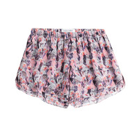 Prabal Gurung - Printed Silk Shorts