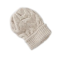 AEO SLOUCHY CABLE KNIT BEANIE