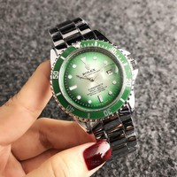 Green ROLEX Wtch for Women +gift box