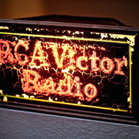 1930's 'RCA Victor Radio' Light Up Sign Prop Rental