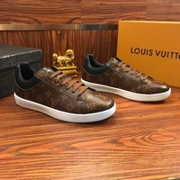Louis Vuitton Lv Sneakers With Full Logo Monogram  - Best Online Sale