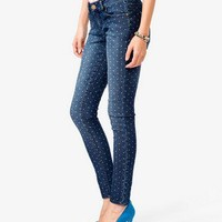 Dotted Skinny Jeans
