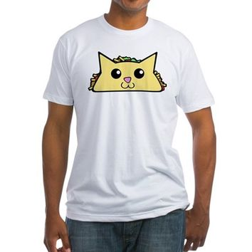 Taco Cat Fitted T-Shirt
