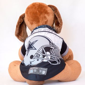 Dallas Cowboys Helmet Dog Shirt NFL Football Officially Licensed Pet Product