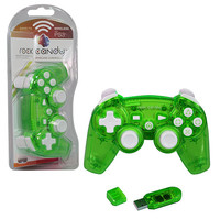 Rock Candy Wireless Controller - Green - PlayStation 3 (New)