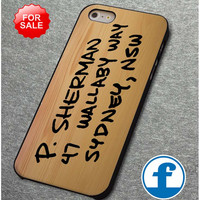 Finding Nemo Soft Wood Address  for iphone, ipod, samsung galaxy, HTC and Nexus PHONE CASE