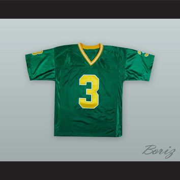 Joe Montana 3 Notre Dame Green Football Jersey
