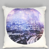 Wesley Bird You & Me Forever Pillow - Urban Outfitters