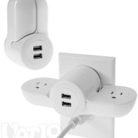 Pivot Power Mini by Quirky: Turn 1 outlet into 4 fabulous features