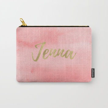 Personalized Makeup Bag Large, Small Zipper Pouch, Personalized Cosmetic Case, Custom Makeup Bag, Travel Accessories, Penicl Pouch