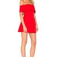 LPA Dress 265 in Cayenne | REVOLVE