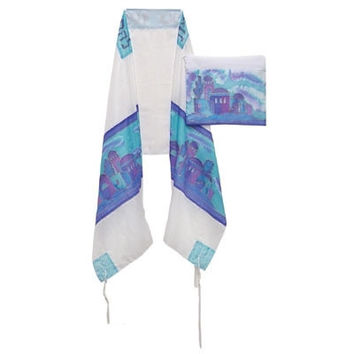 Silk 3 Piece Tallit Set