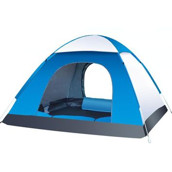 3-4 Person Automatic Folding Tents Family Tents Beach